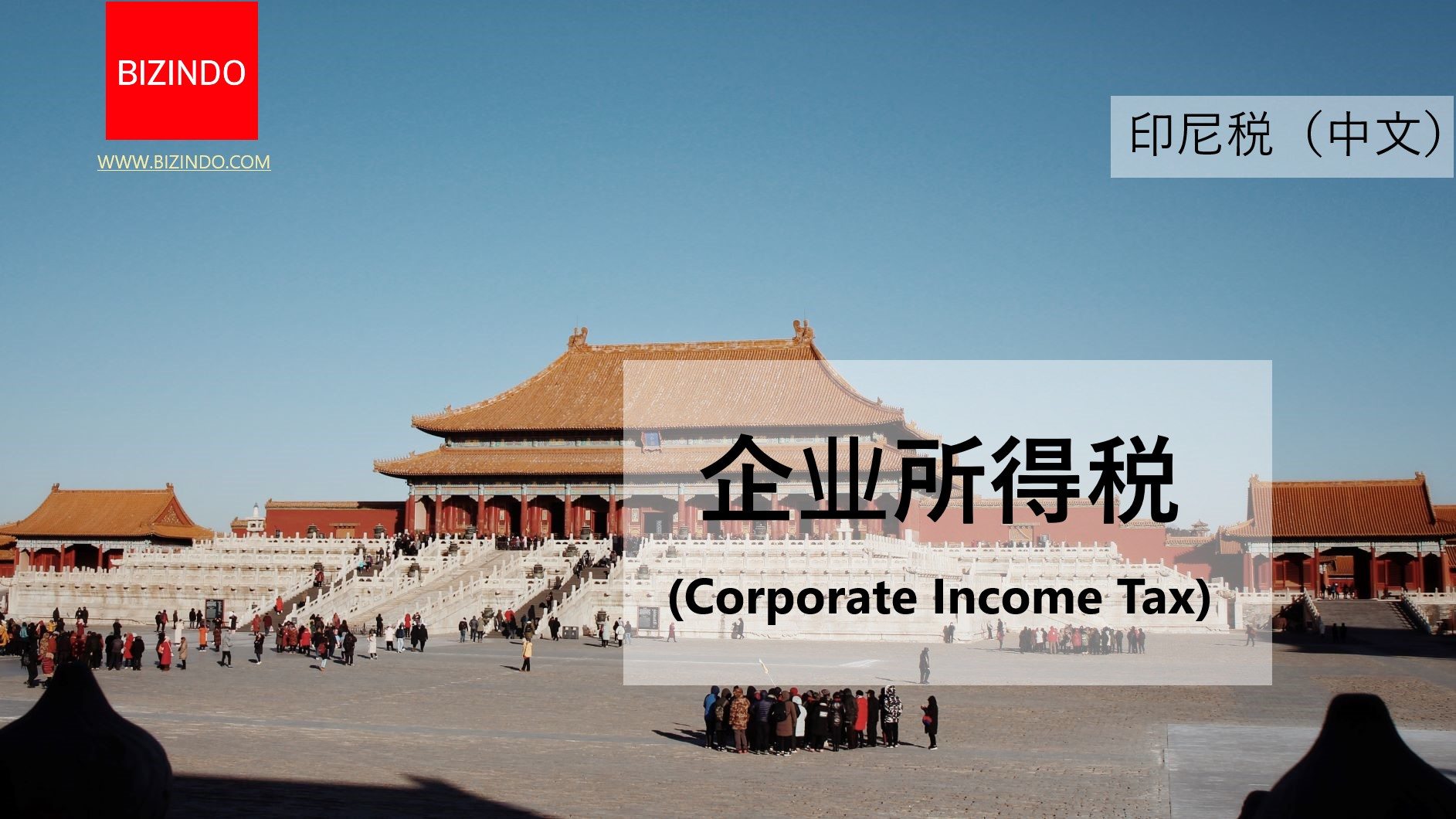 Indonesian Corporate Income Tax (in Chinese) 印尼企业所得税(中文)