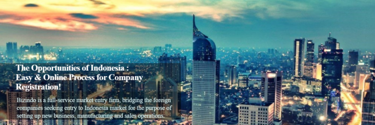 Online Process for Company Registration in Indonesia